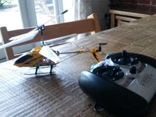 Excellent value remote control helicopter